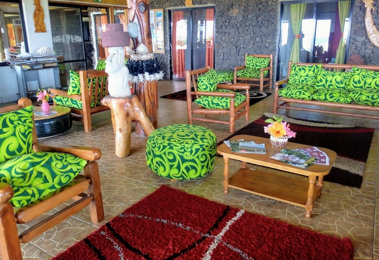 Hostel Camping Mihinoa, Hanga Roa, Salon de la réception