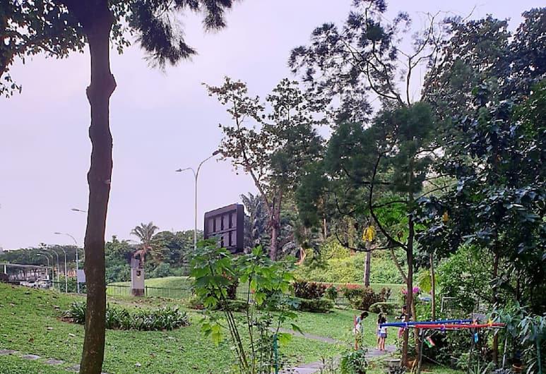 黃金青年旅舍, 新加坡, 花園