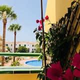公寓, 1 間臥室, 露台, 泳池景觀 - 露台