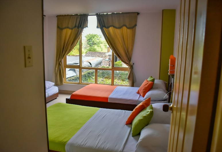 Hotel la Terraza, Quimbaya, Suite Familiar 6 pax, Habitación