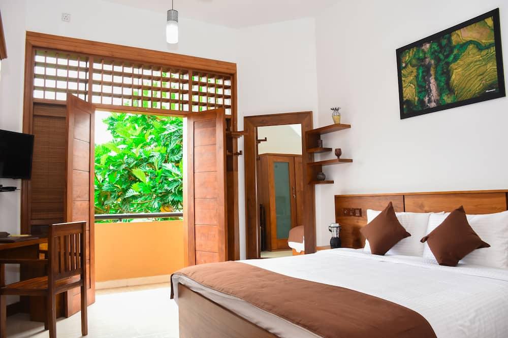 Deluxe-Doppelzimmer, 1King-Bett, Nichtraucher, Blick auf den Innenhof - Blick auf den Innenhof