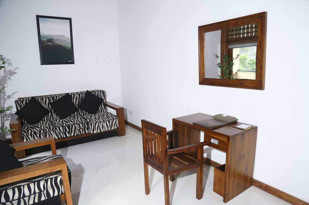Premier-Suite, 1King-Bett, Nichtraucher - Wohnzimmer