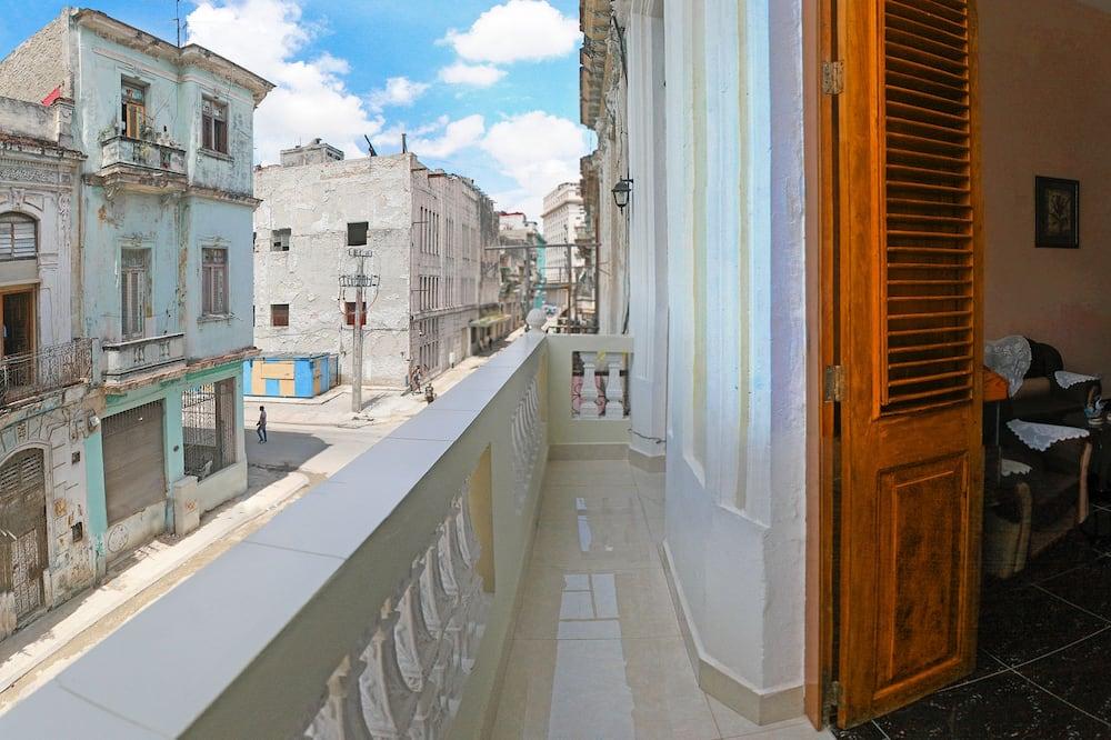 클래식 아파트, 침대(여러 개), 금연 - 발코니