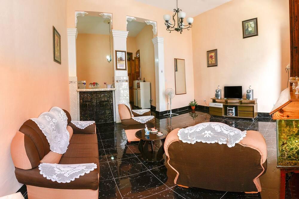 클래식 아파트, 침대(여러 개), 금연 - 거실