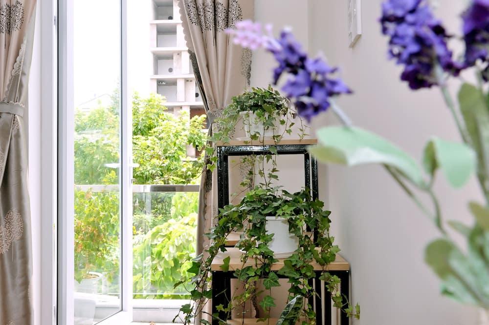 Standard-Doppelzimmer, Balkon, Meerblick - Zimmerausstattung