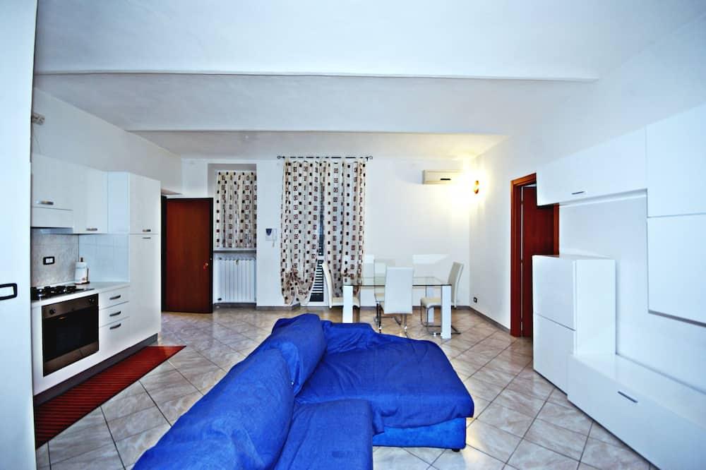 Apartament typu Deluxe Suite, 1 sypialnia, aneks kuchenny - Pokój