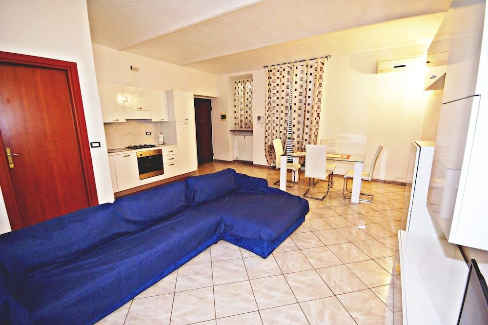Apartament typu Deluxe Suite, 1 sypialnia, aneks kuchenny - Powierzchnia mieszkalna