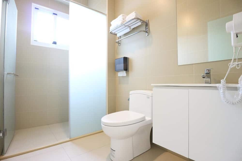 Economy Tek Büyük veya İki Ayrı Yataklı Oda, 2 Tek Kişilik Yatak, Penceresiz - Banyo