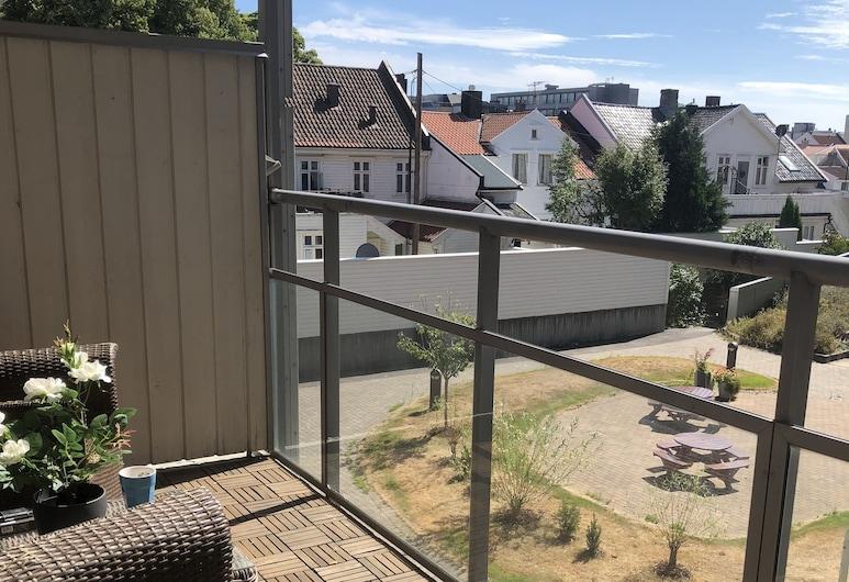 Kvadraturen Apartments Family, Kristiansand, Leilighet, 2 soverom, Terrasse/veranda