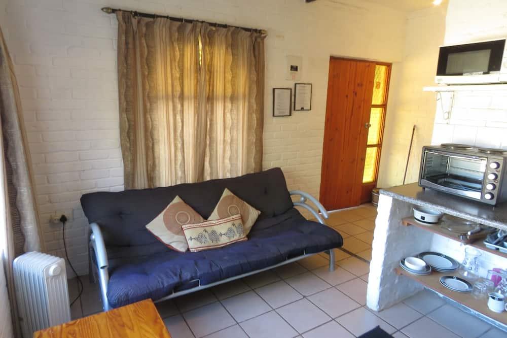 Cottage, 1 lit double et 1 canapé-lit, non-fumeurs - Salle de séjour