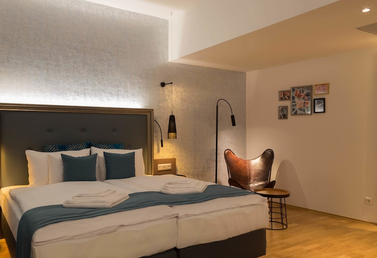 Hotel Memories Budapest, Budapest, Deluxe King Room, Kamer
