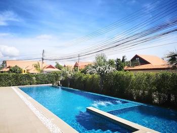 A(z) AnB Pool Villa Modern 3BR at The Ville Jomtian Pattaya hotel fényképe itt: Pattaya