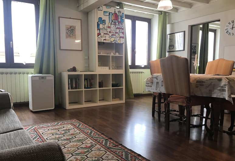 Art Apartment Duomo, Florence, Apartment, 1 Bedroom, Living Area