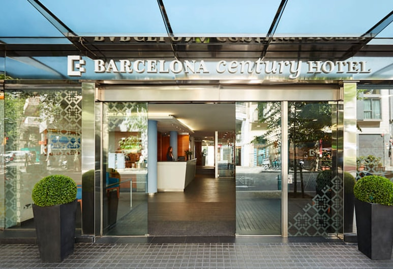 Barcelona Century Hotel, Barcelona, Hotellinngang