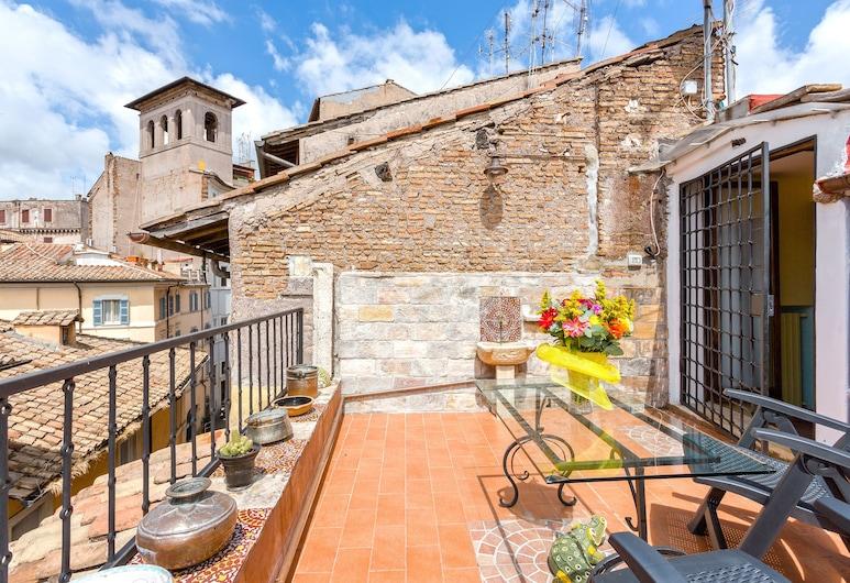 Rome as you feel - Vacche Apartment, Rooma, Panoraamahuoneisto, 1 makuuhuone, Terassi, Terassi/patio