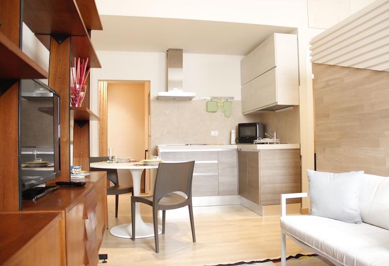 Art Apartment Porta a Prato, Firenze, Appartamento, 1 camera da letto, Area soggiorno