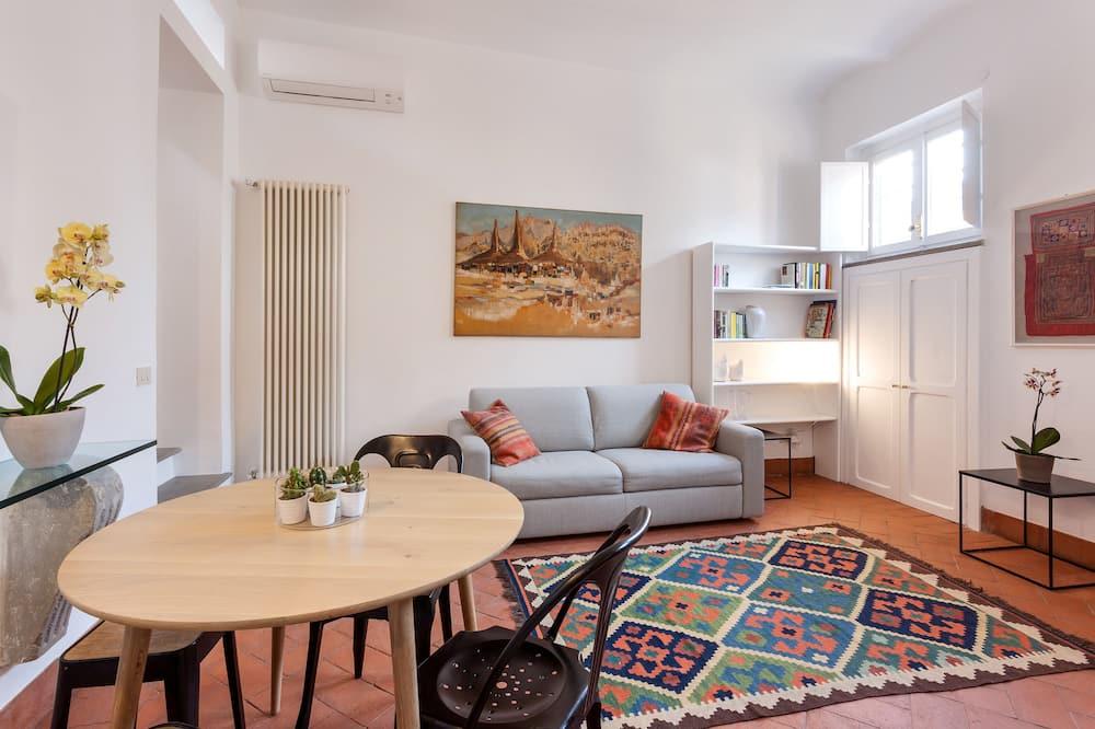 Apartamento, 1 Quarto, Terraço - Área de Estar