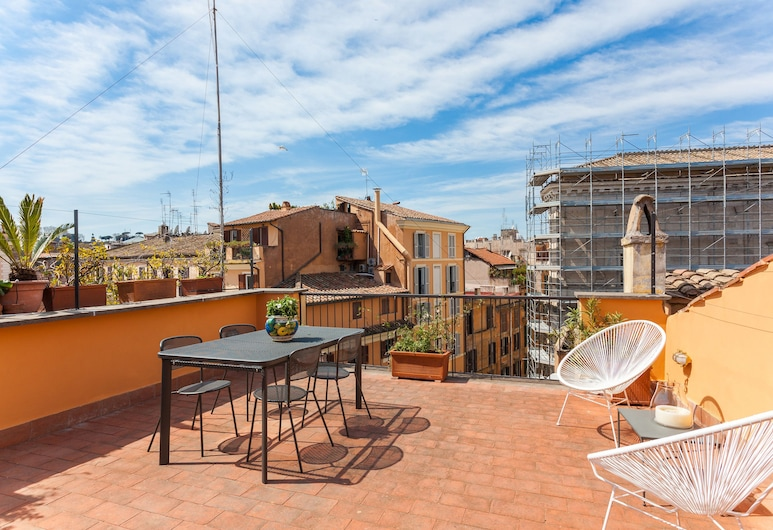 Rome as you feel - Baullari with Terrace, Rome, Terrace/Patio