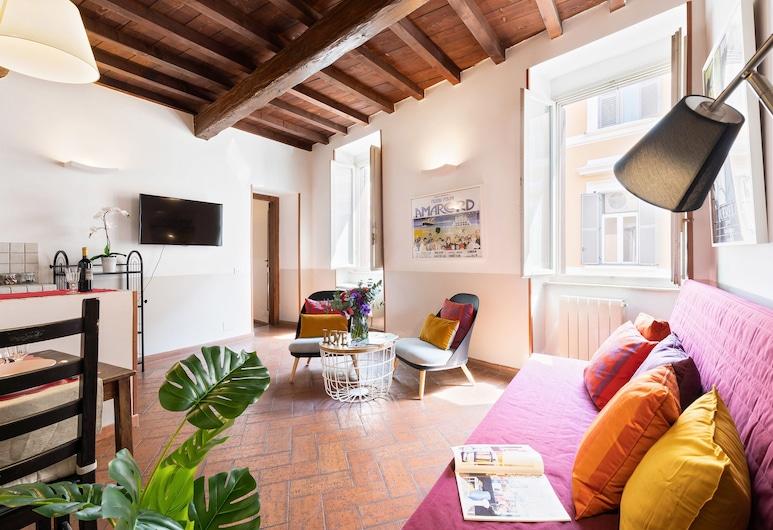 Rome as you feel - Baullari 1 Bedroom Apartment, Róma, apartman, 1 hálószobával, Szoba
