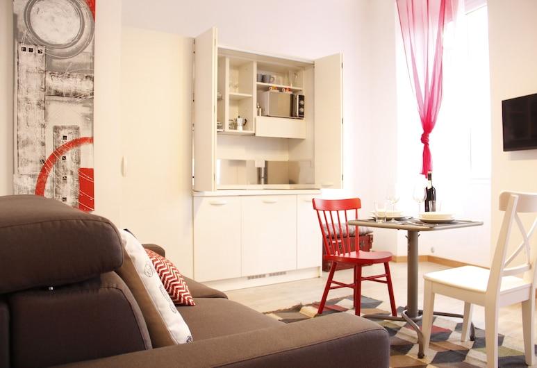 Art Apartment Scala, Florencija, Studija, 1 miegamasis, Svetainės zona