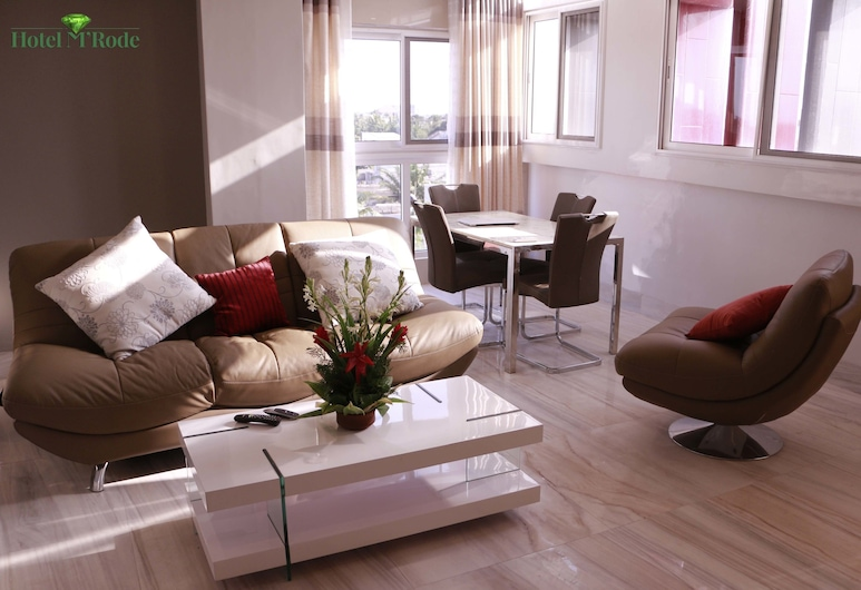 Appart MRode Baguida, Lome, Familie appartement, 3 slaapkamers, niet-roken, Woonruimte
