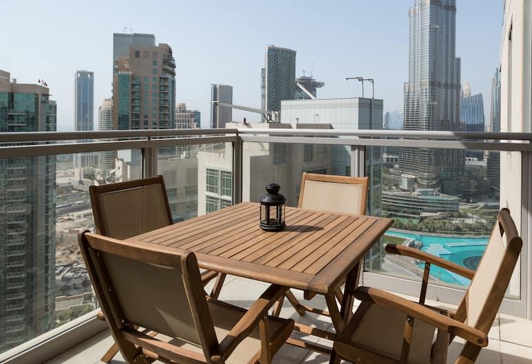 HiGuests Vacation Homes - Residences 5, Dubajus, Išskirtinio tipo apartamentai, 2 miegamieji, Balkonas