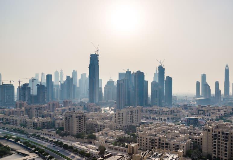 HiGuests Vacation Homes - Burj View East, Dubajus, Apartamentai su vitrininiais langais, 2 miegamieji, Nerūkantiesiems, Vaizdas iš kambario