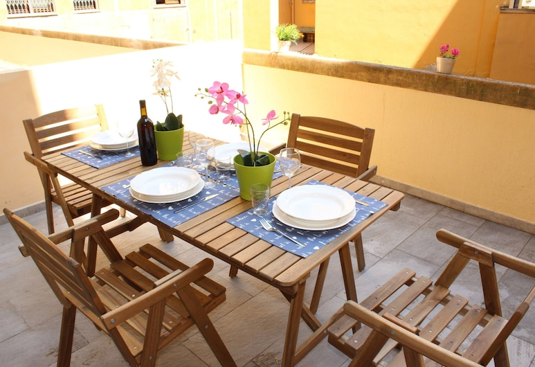 Art Apartment Stazione B, Florence, Apartment, 2 Bedrooms, Terrace/Patio