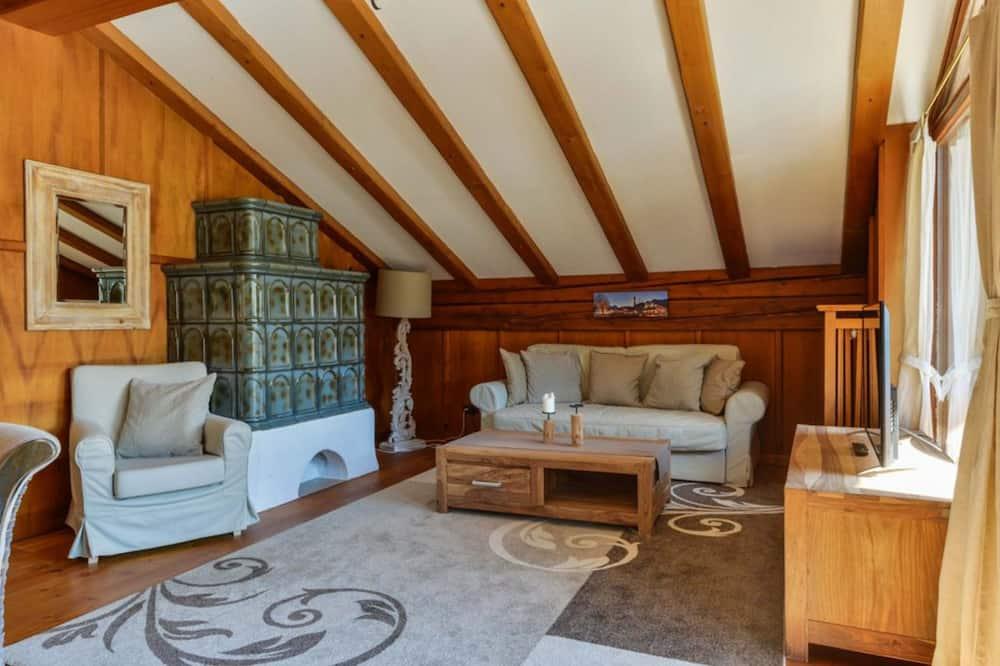 Apartment (Wank, incl. cleaning fee) - غرفة معيشة
