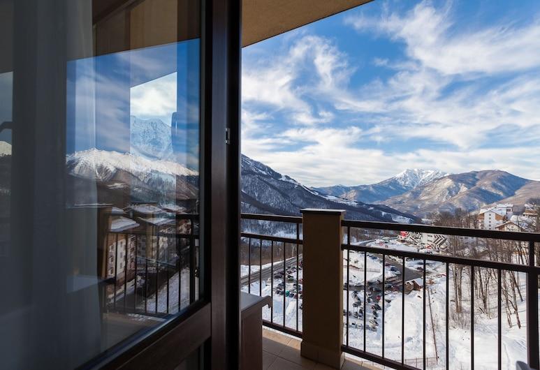 Rosa Ski Inn Hotel, Krasnaya Polyana, Tek Büyük veya İki Ayrı Yataklı Oda, Ortak Banyo (Building B), Balkon