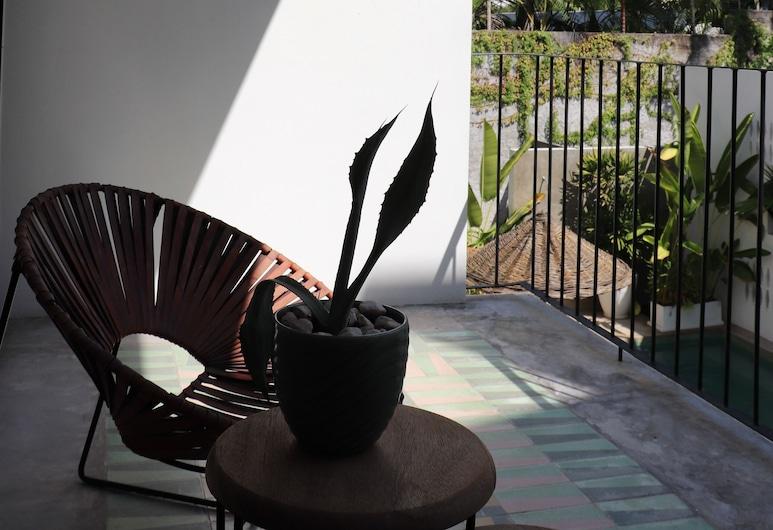 Don Bonito, Sayulita, SEIS, Junior Suite, Balcony and Pool view, Balcony