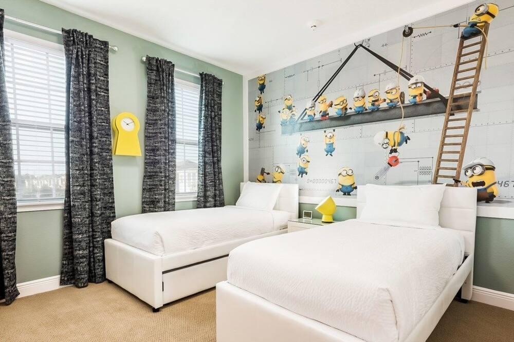 Villa – family, flere soverom, hageområde - Temarom for barn