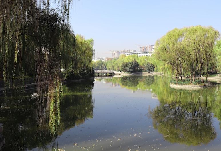 陝賓雀笙酒店, 西安, 花園