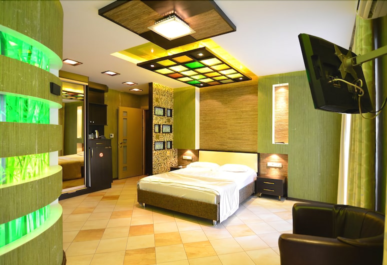 프레스티지 아파트 호텔, 키시나우, 컴포트 쿼드룸, 침실 2개, 객실
