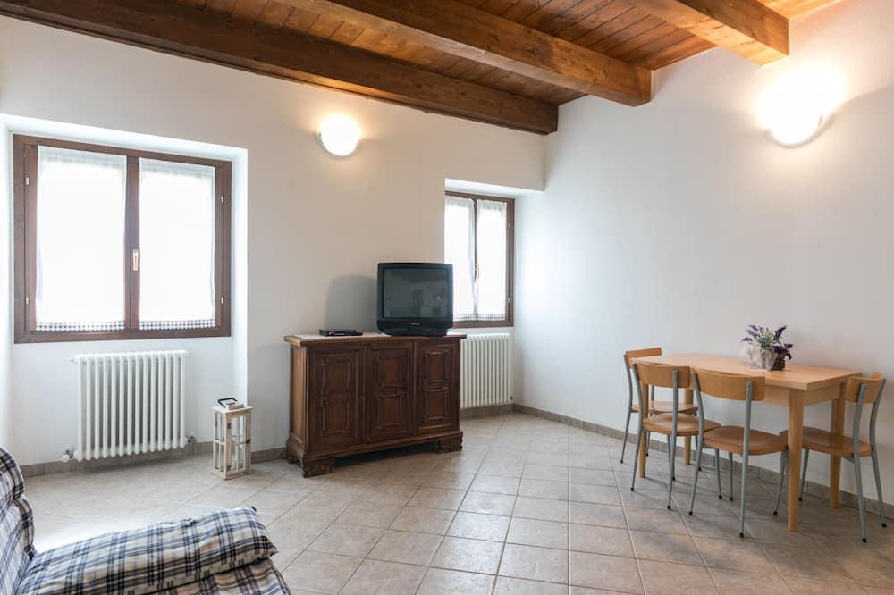 شقة - غرفة نوم واحدة - منظر للتل (Faggio) - غرفة معيشة