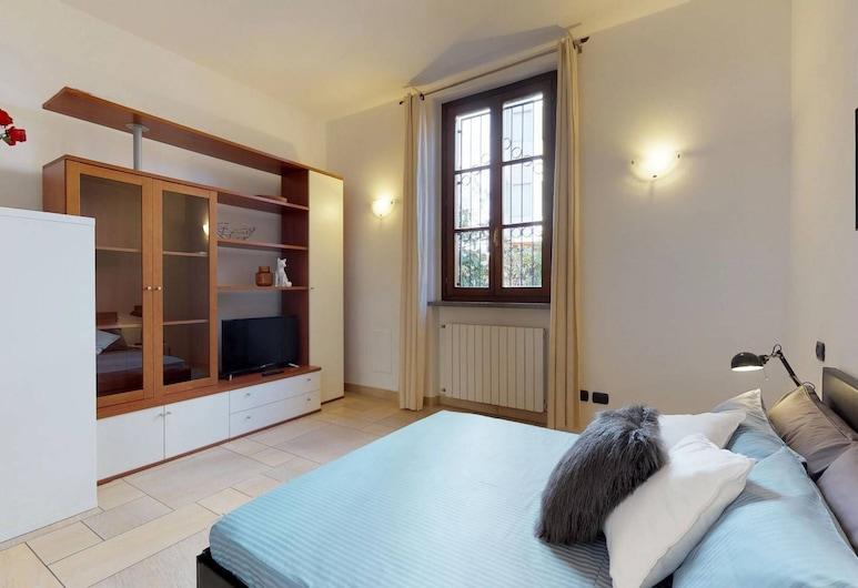 Apartment with garden near San Siro, Milano, Appartamento, 1 camera da letto, Vista dalla camera
