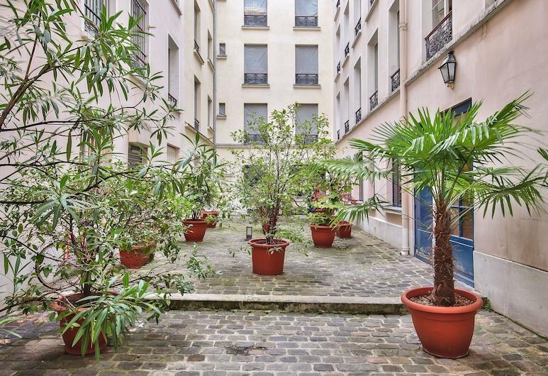 71 - Lovely Flat Marais, Paryż, Apartament, 3 sypialnie, Taras/patio