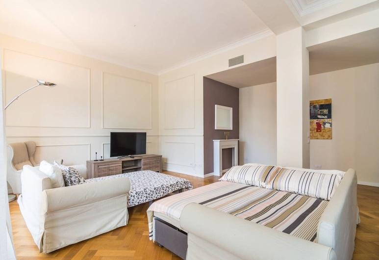 Luxury 3 bedrooms 500m from Duomo, Milano, Apart Daire, 3 Yatak Odası, Balkon, Şehir Manzaralı, Oturma Alanı