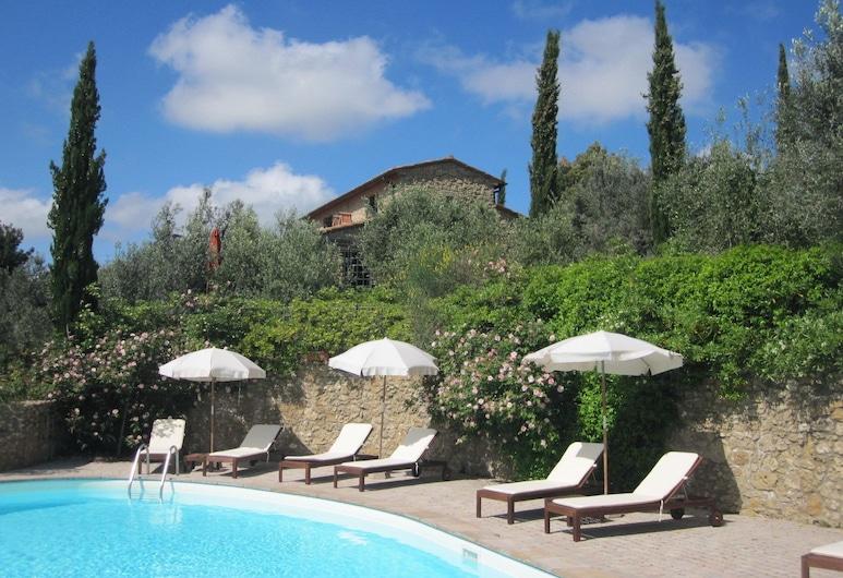赫皮歐農莊飯店, Guardistallo, 客房景觀