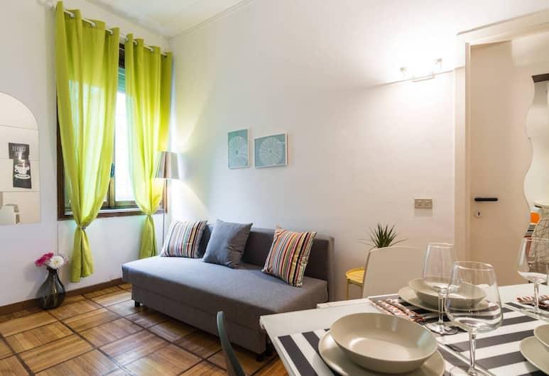 아파트먼트 두오모, 밀라노, 아파트, 거실 공간