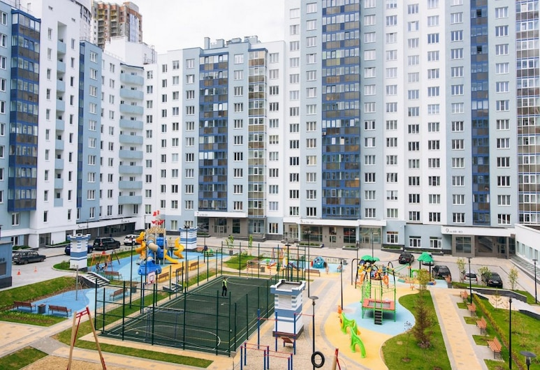 Domashny Uyut na Sheinkmana, Jekaterinburg, Gårdsplads