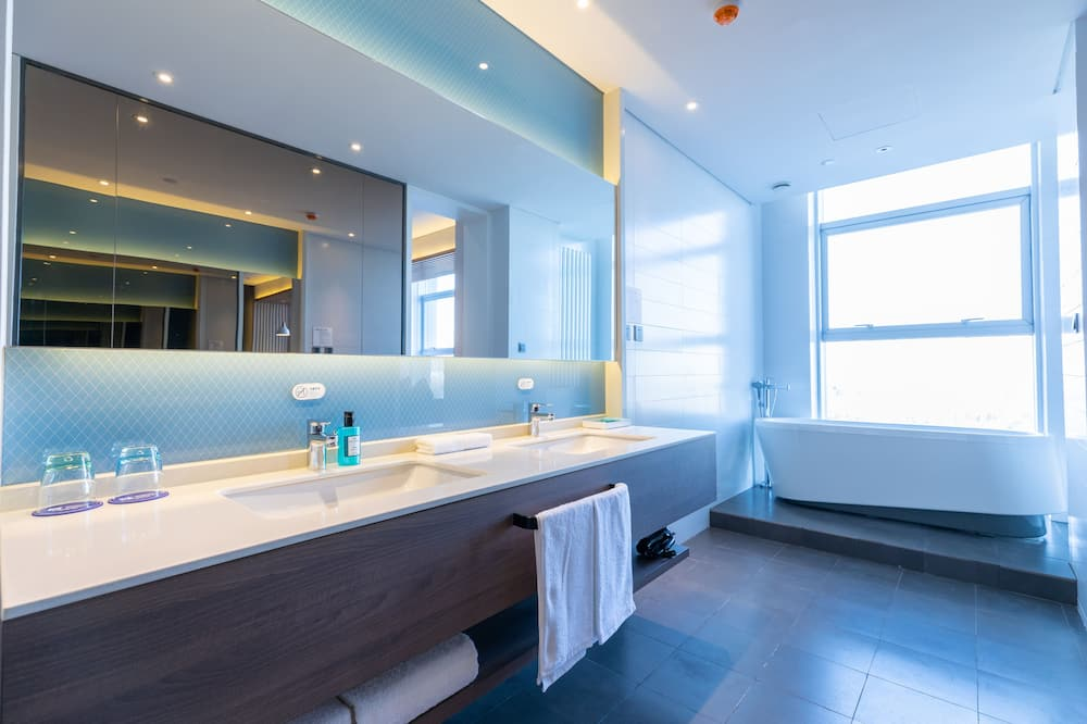 Suite (Holiday Inn Express) - Bathroom