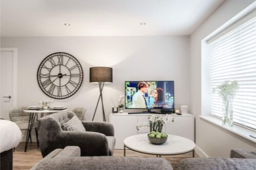 行政公寓, 1 張標準雙人床, 非吸煙房 - 客廳