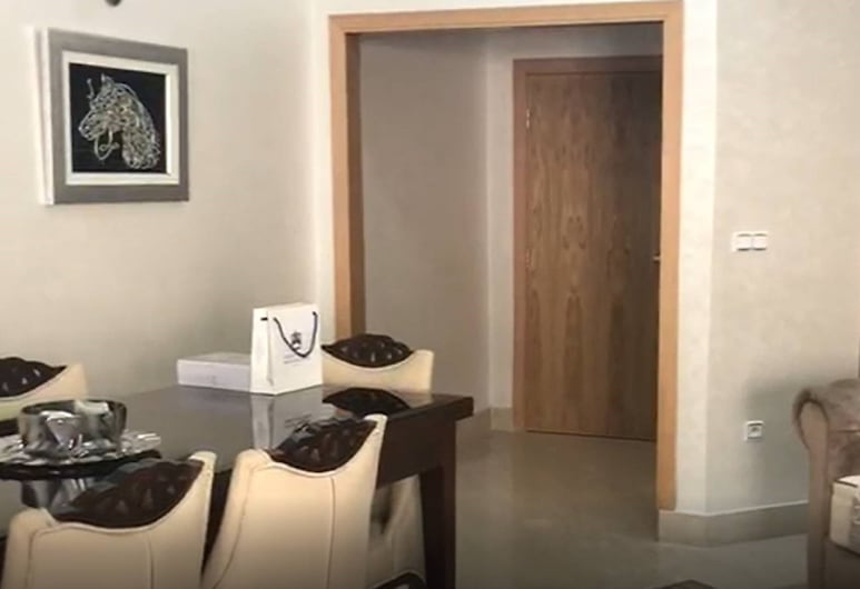 穆罕默德五世大道美景開放式公寓酒店, 拉巴特, 開放式客房, 1 張標準雙人床, 客廳