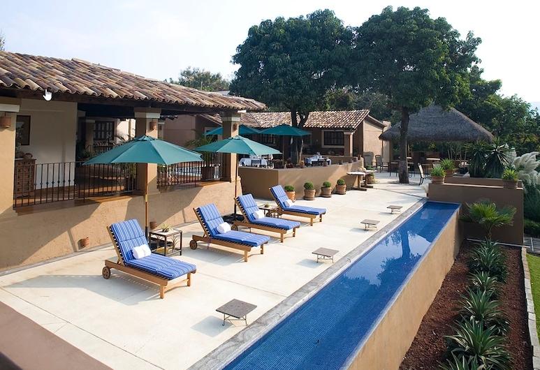 Hotel Boutique Casa de Campo Malinalco, Malinalko, Solārijs