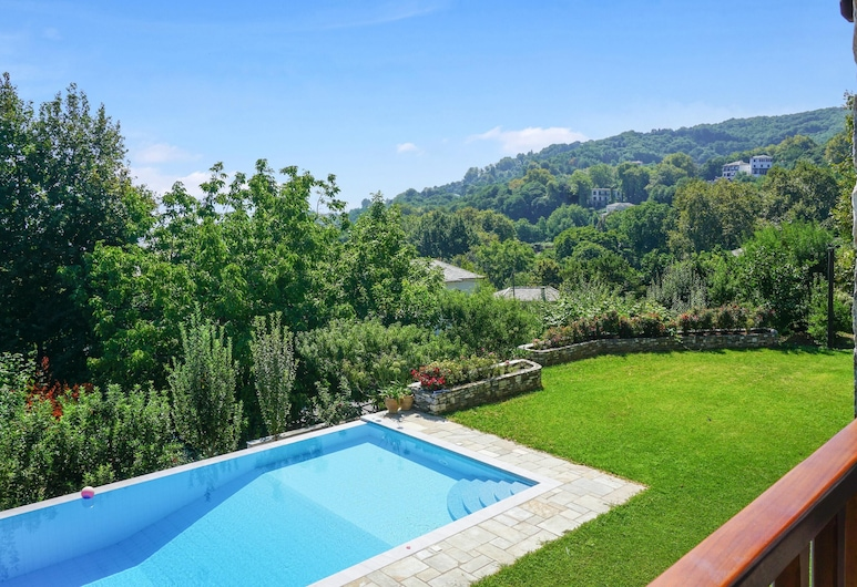 Villa With 5 Bedrooms in , With Wonderful sea View, Private Pool, Enclosed Garden - 7 km From the Beach, Zagora-Mouresi, Pool