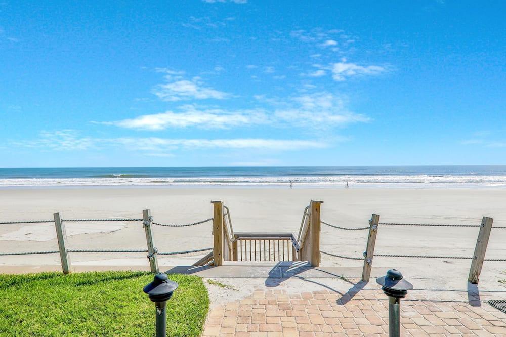 Mieszkanie, 1 sypialnia, prywatny basen, widok na plażę (Cottage by the Sea) - Plaża