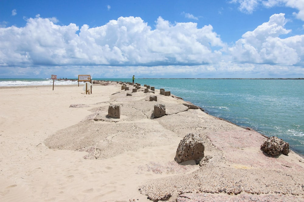Квартира, 1 спальня, гидромассажная ванна (Gulfview II #607) - Пляж