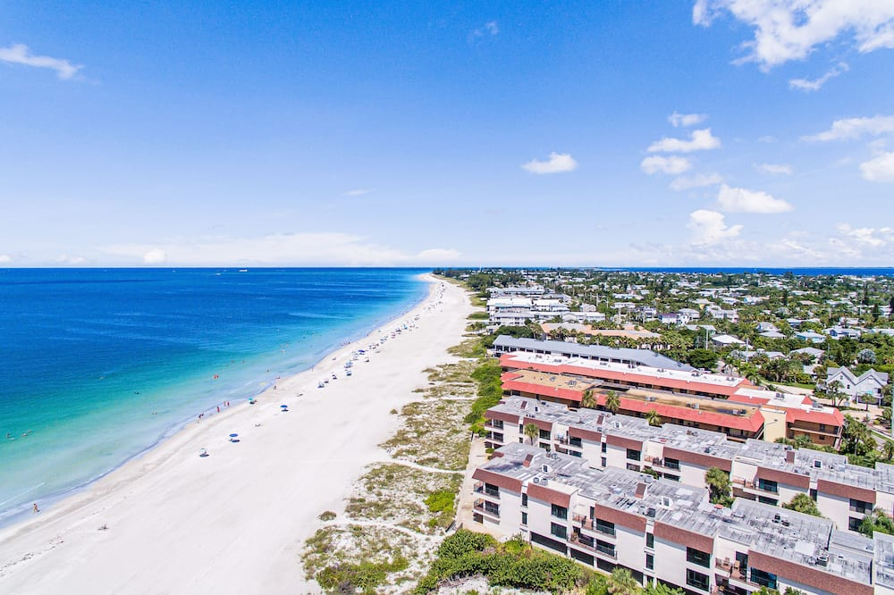 Kondominium, 2 kamar tidur, kolam renang pribadi, pemandangan pantai (Water's Edge 209 South) - Pantai