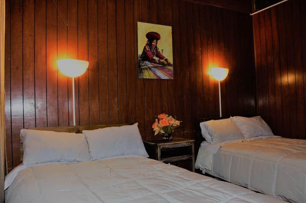 Chambre Double, 2 lits une place, salle de bains commune - Chambre